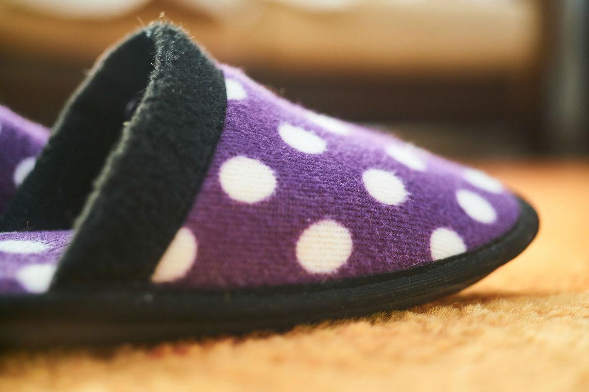 chausson femme